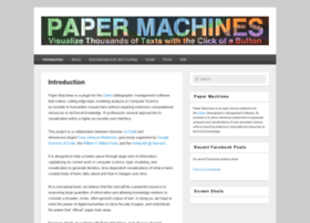 papermachines.org
