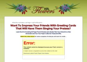 paperpunchflowers.com