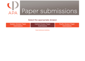 papers.apaonline.org