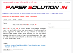 papersolution.in
