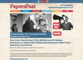 paperspast.co.uk