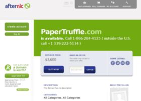 papertruffle.com