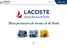 papeterie-lacoste.com