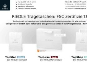 papiertragetaschen.riedle.de