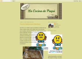 paqui-lacocinadepaqui.blogspot.com