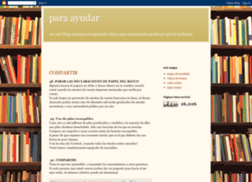 paraayudaralquelonecesita.blogspot.com
