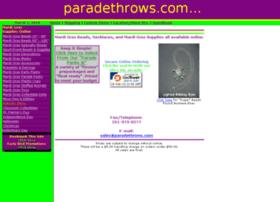 paradethrows.com