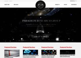 paradigmresearchgroup.org