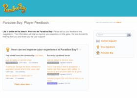 paradisebay.uservoice.com