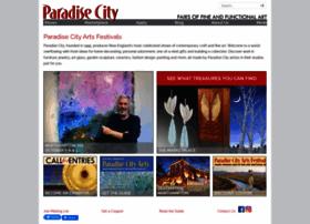 paradisecityarts.com