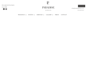 paradiseevents.com