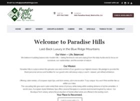 paradisehillsresort.com