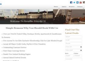 paradiseresortsuk.com
