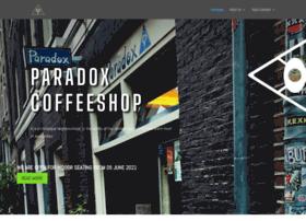 paradoxcoffeeshop.com