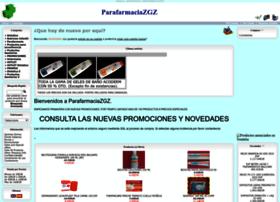 parafarmaciazgz.net