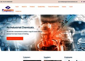 paragonchemicalsindia.com