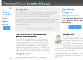 paralegal-work.net