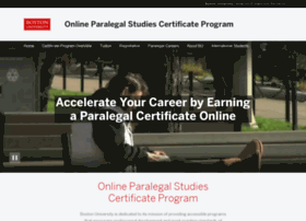 paralegalonline.bu.edu