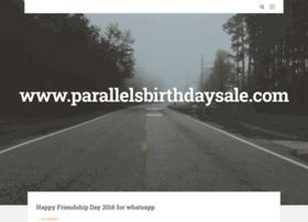parallelsbirthdaysale.com