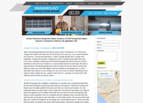 paramountcagaragedoorrepair.com