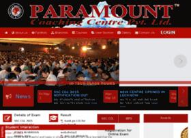 paramountcoachingcentre.com