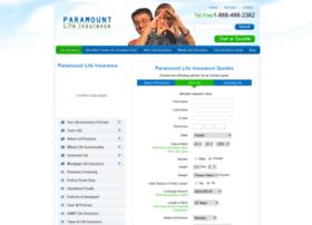 paramountlifeinsurance.com