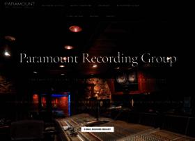 paramountrecording.com