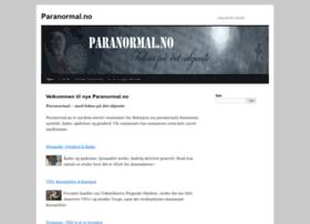 paranormal.no