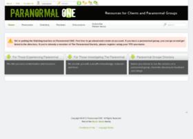 paranormalone.com