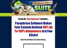 paraphrasesoftware.com