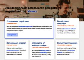 parapluu.nl