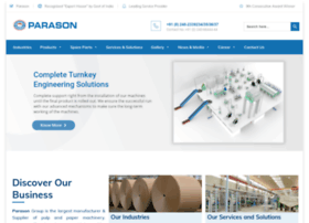 parasonmachinery.com