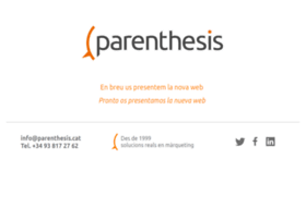 parenthesis.es