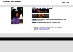 parentsandnannies.com