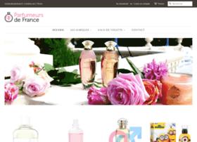 parfumeursdefrance.com
