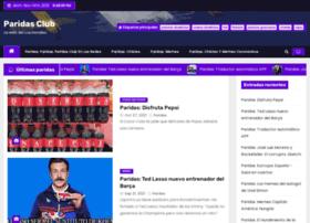 paridasclub.com