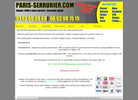 paris-serrurier.com