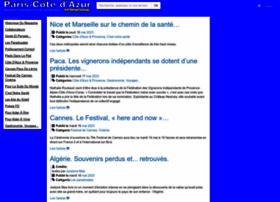 pariscotedazur.fr