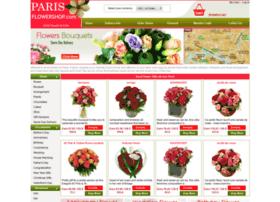 parisflowershop.com