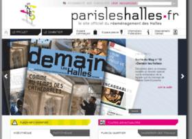parisleshalles.fr