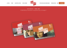 parismuseumpass.com