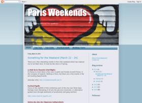 parisweekends.blogspot.com