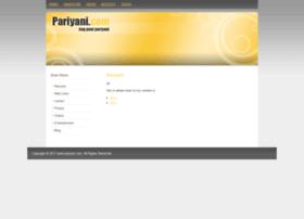 pariyani.com