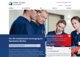 park-klinik.com