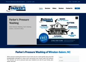 parkerspressurewashing.com