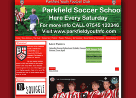 parkfieldyouthfc.com