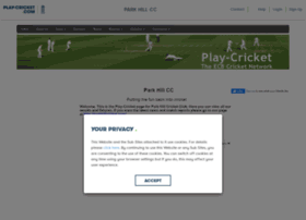 parkhill.play-cricket.com