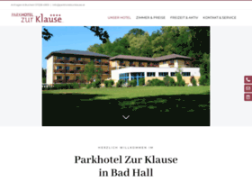 parkhotelzurklause.at