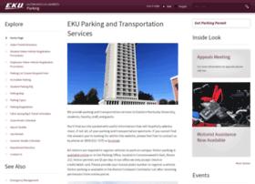 parking.eku.edu