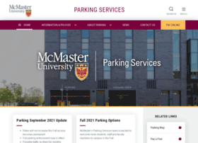 parking.mcmaster.ca
